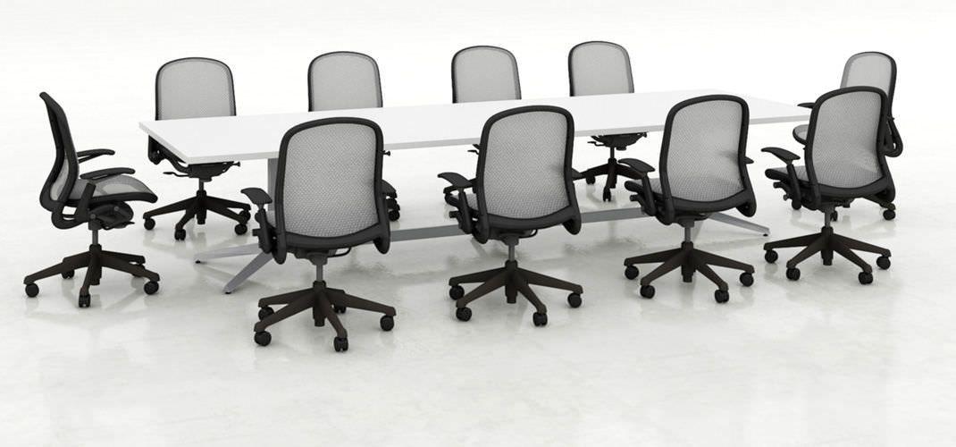 Knoll Dividenden Konferenztisch - Knoll Dividenden Konferenz-Tisch - designer betonmoebel innen aussen