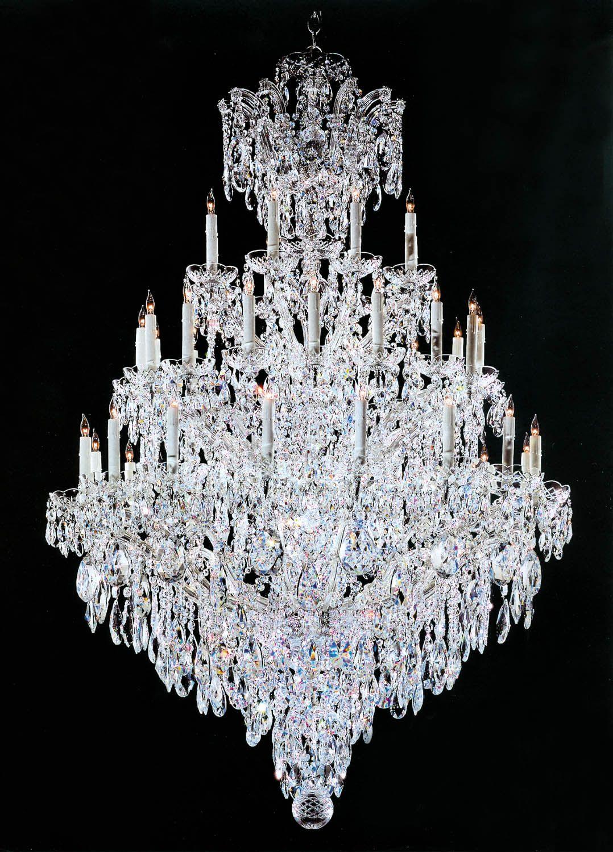 Custom Marie Antoinette crystal chandelier Oh my