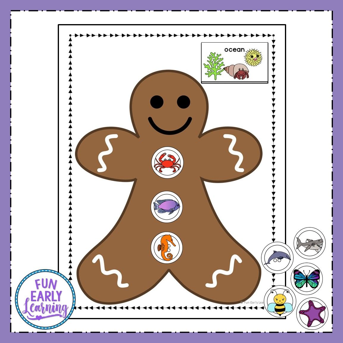 Winter Categories Sorting Speech Activity With Images