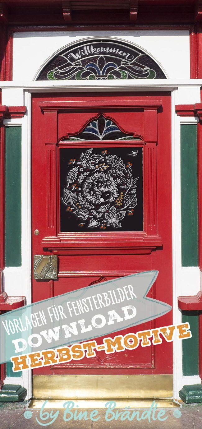 Bines Shop - Shop für Vorlagen für Fenster etc. von Bine Brändle