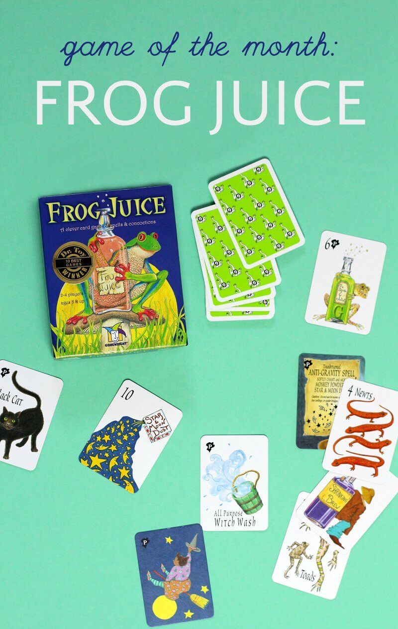 Game of the month frog juice frogs toy and supernanny game of the month frog juice voltagebd Gallery