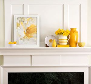 Awesome thanksgiving mantelpiece decor ideas with wooden white door yellow flower and fall decorations also best fun home images diy for rh pinterest