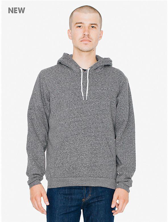 American Apparel Men Classic Pullover Hoodie