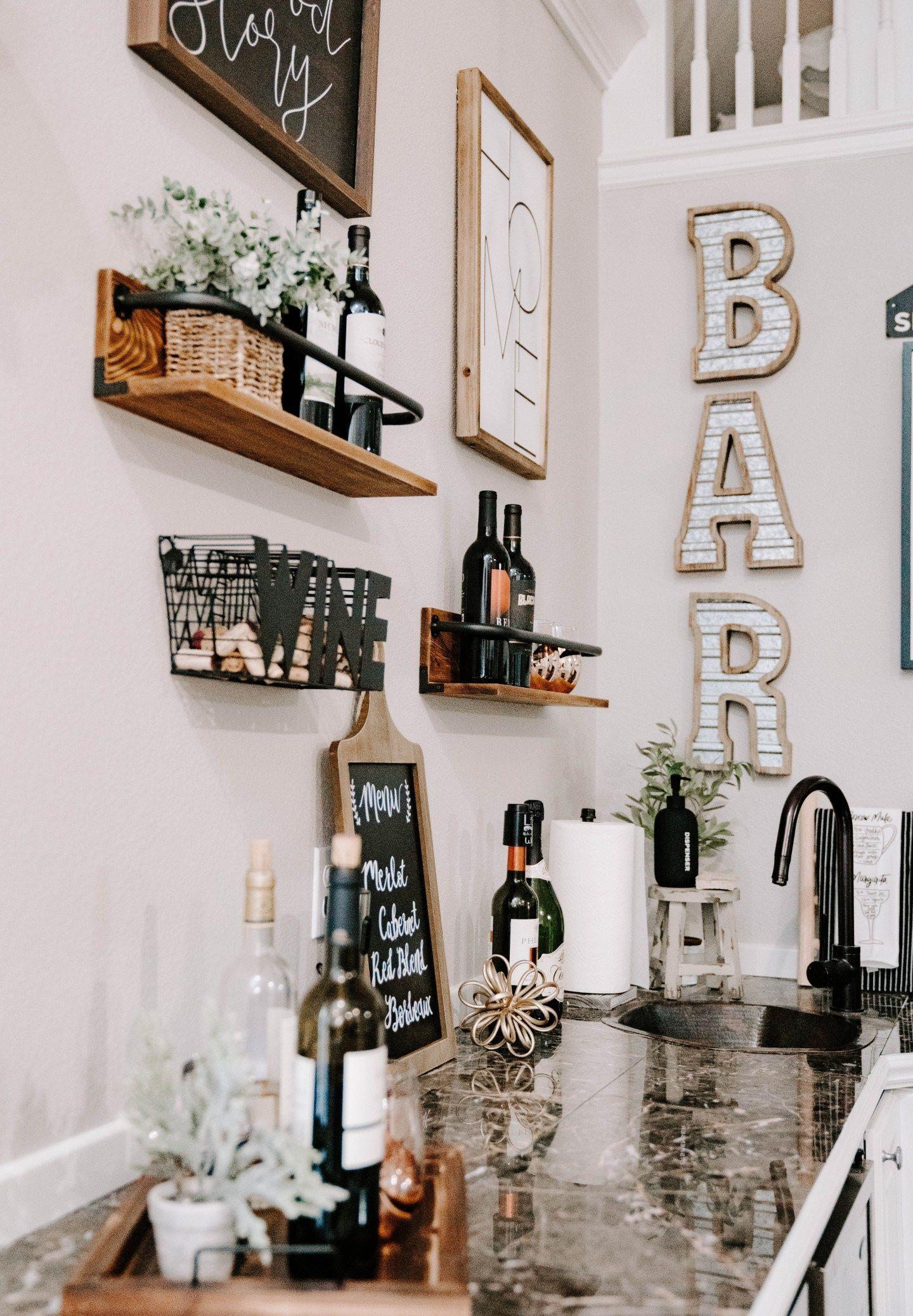 Home Bar Decor Ideas   xolivi   Bar wall decor, Home bar decor ...