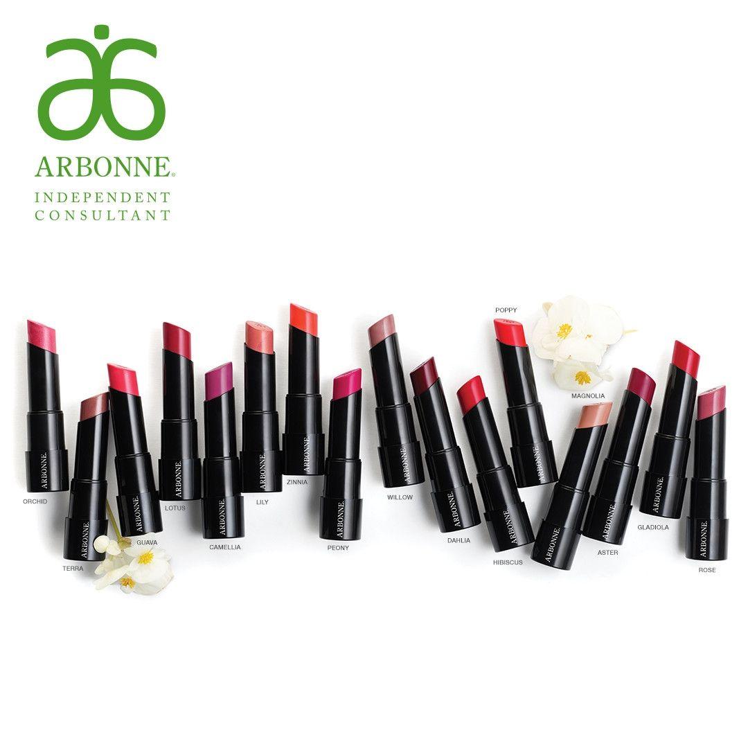 Arbonne Lipstick Colors