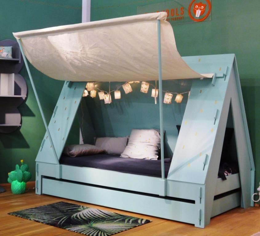 Mdf Kids Single Bed Tente By Mathy By Bols Design Francois