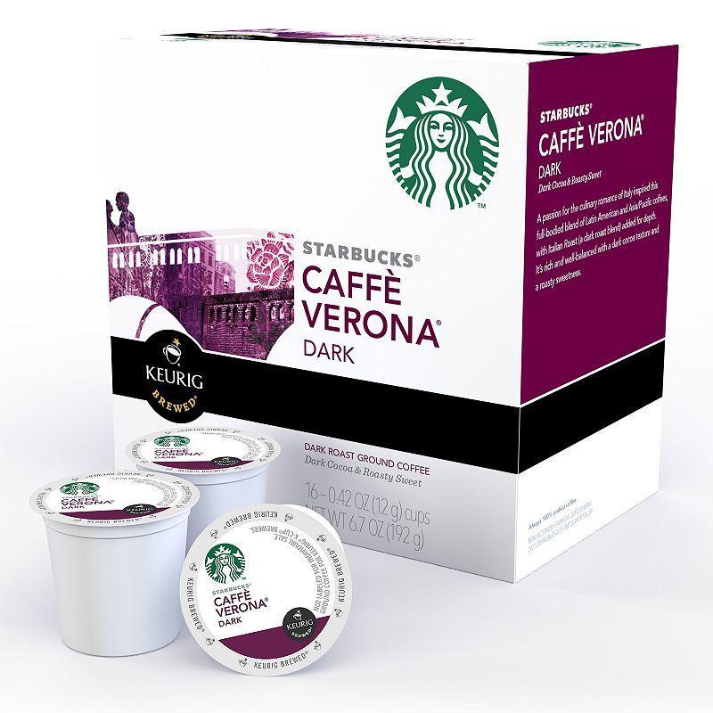 Starbucks Caffe Verona, Keurig® KCup® Pods, Dark Roast