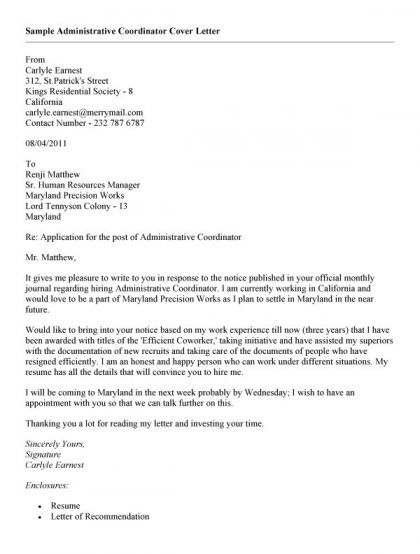 Phlebotomy Cover Letter Template Word letter Pinterest - administrative cover letters