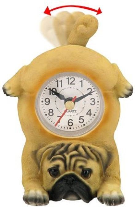 Wagging Dog Desk Clock A Great First Clock For The Nursery