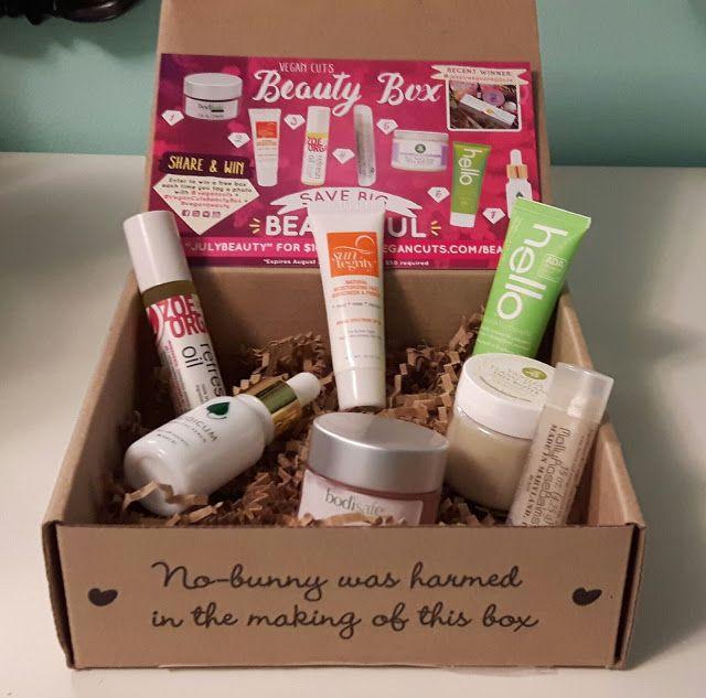 Vegan Cuts July Beauty Box Unboxing