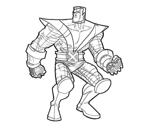 X Men Coloring Pages 5 Coloring pages for kids Pinterest
