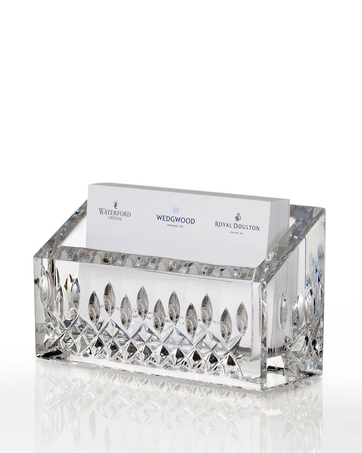 Lismore Business Card Holder | Waterford crystal