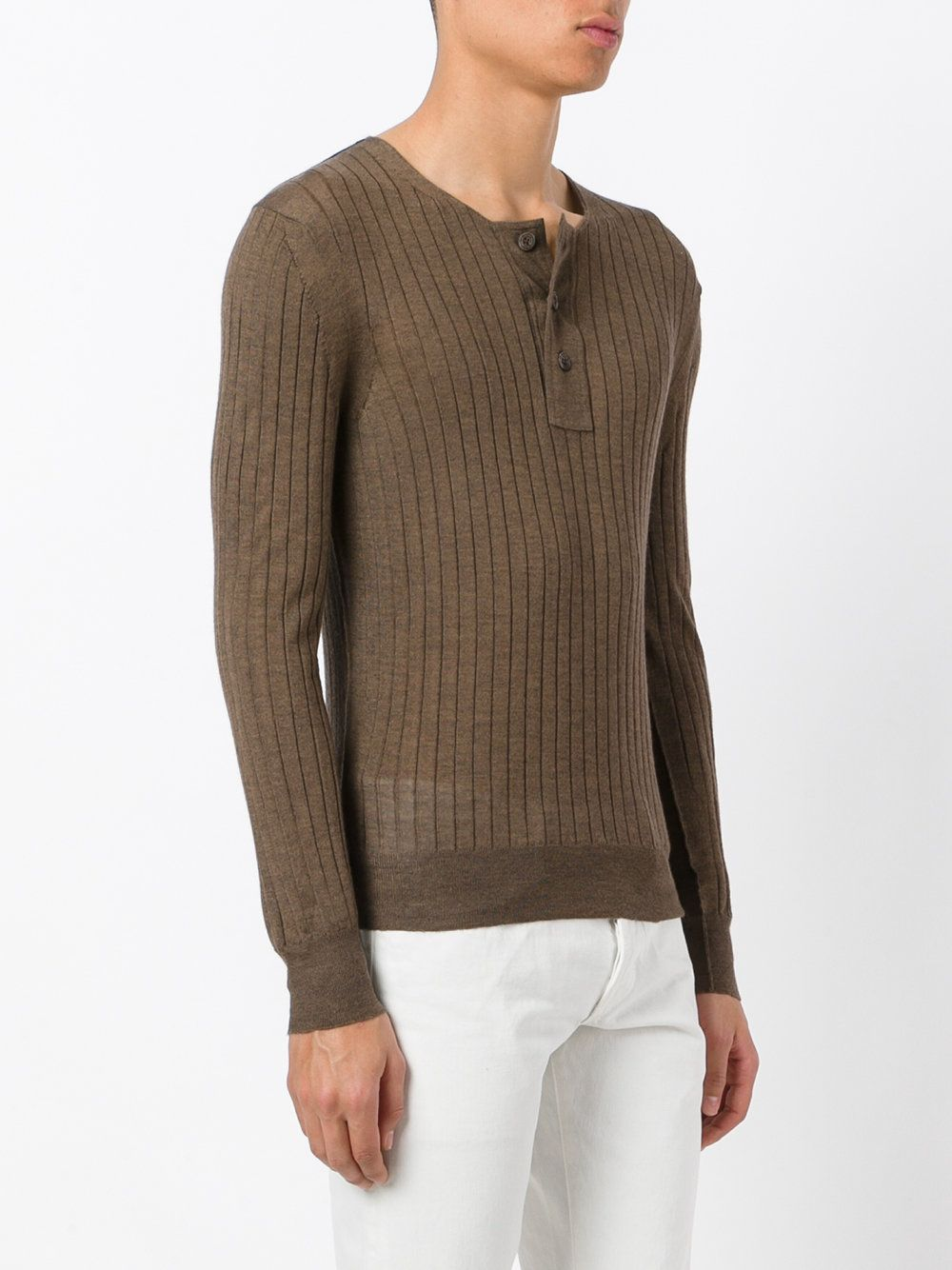 1090ce52c Tom Ford superfine long sleeved henley. Find this Pin and more on Knitwear  ...