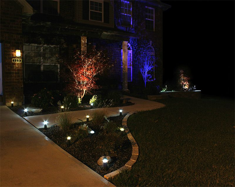 Led outdoor landscape lighting super bright leds landscape led landscape lighting aloadofball Image collections