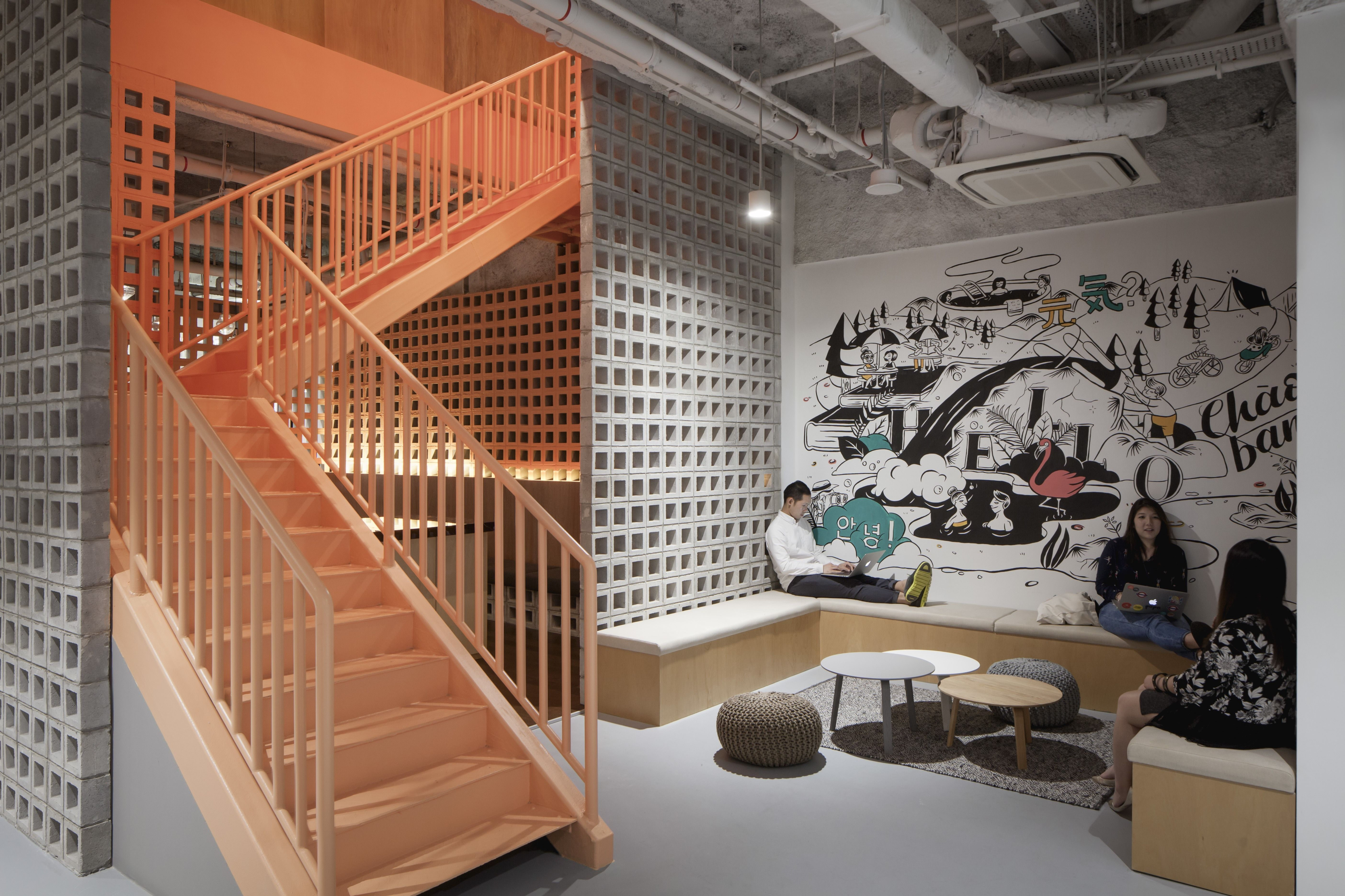 A Tour Of Airbnb S New Singapore Office Interior Design Singapore Home Dream Office