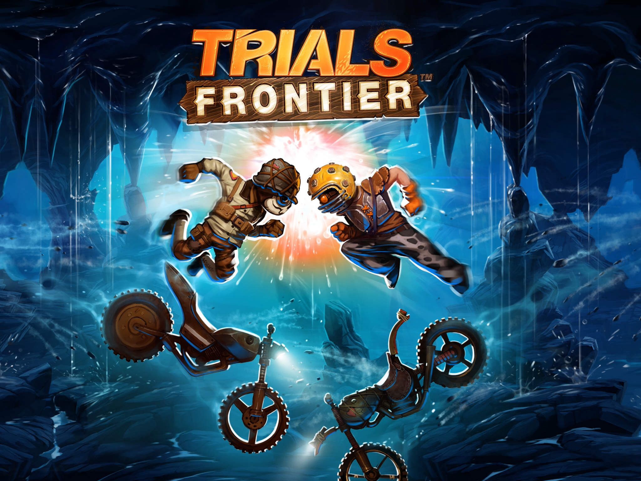 Trials frontier game logo Games, Game logo, Android