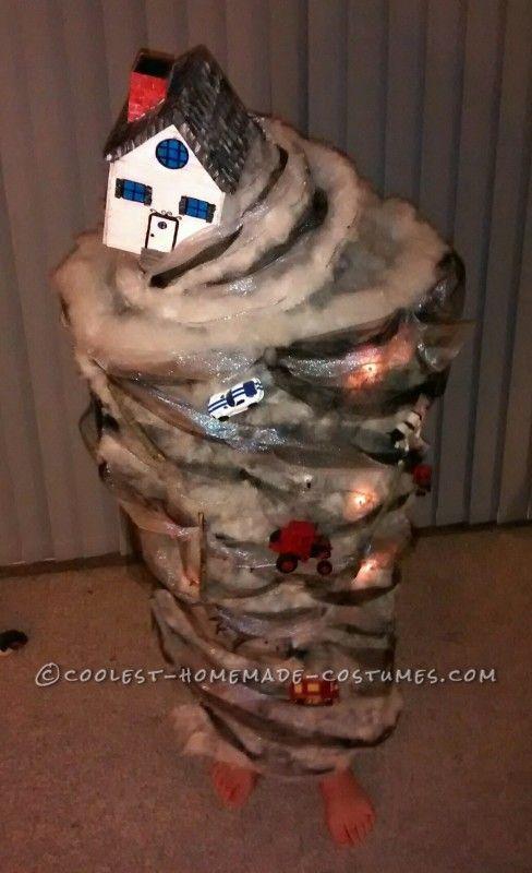 Awesome Homemade Tornado Costume Coolest Homemade