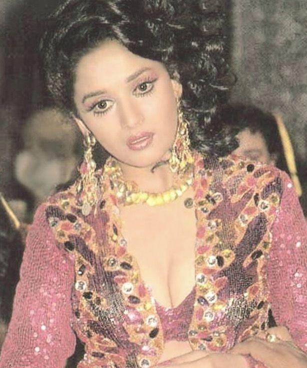 Madhuri dixit cleavage images