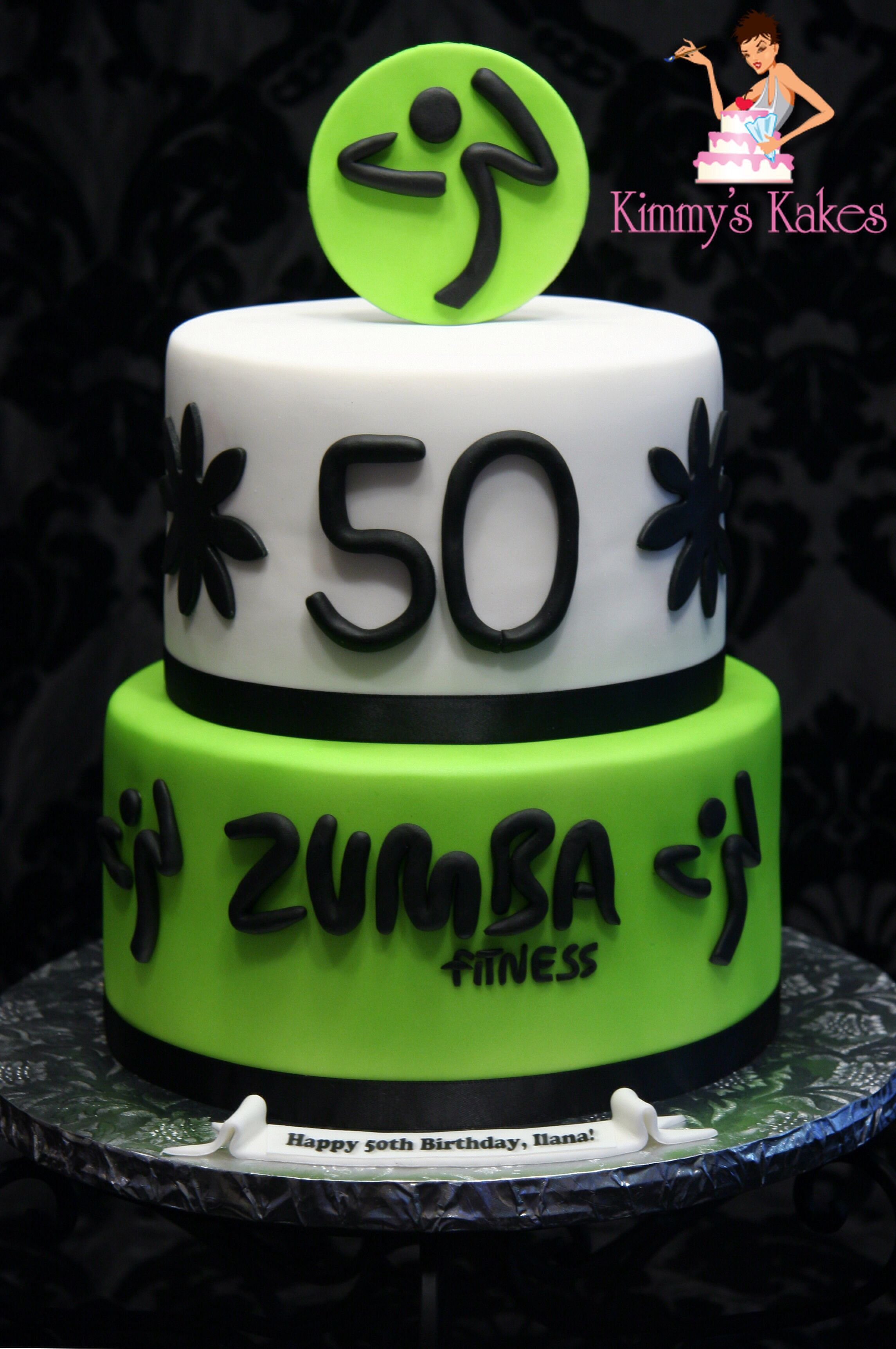 Zumba Birthday Cake Zumba Pinterest Birthday Cakes Birthdays