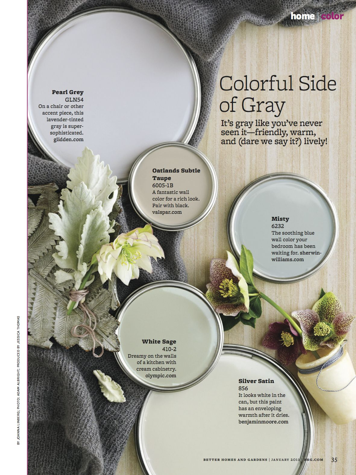 Soft Grays Color Scheme; great colors for a house | house LOVE in ...