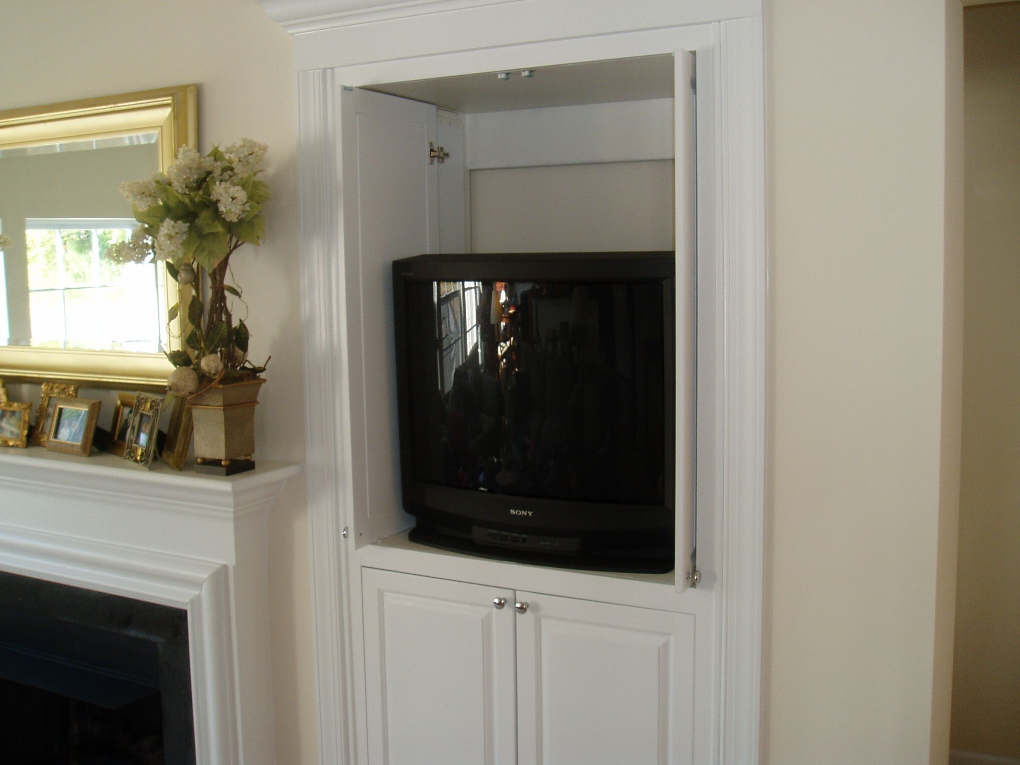Tv Cabinet With Slide In Doors Google Search Media Built In