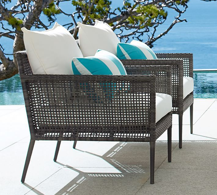 Ordinaire Cammeray All Weather Wicker Occasional Chair