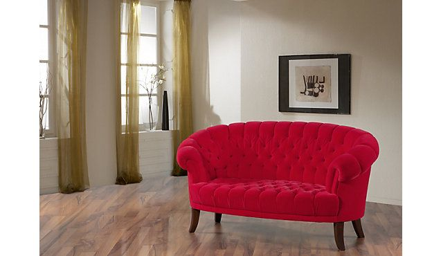 Red Sofa For Living Room Rotes Sofa Furs Wohnzimmer Wohnen Haus Deko Rotes Sofa