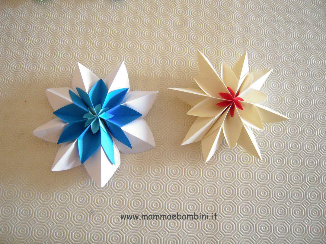 In questo VIDEO potete vedere i passaggi per realizzare questi fiori; hanno una forma di stella, quindi adatti anche per gli abbobbi di Natale. Servono semplicemente tre fogli di carta (a voi la scelta dei colori!) e avrete la vostra bellissima decorazione. Nella categoria VIDEO