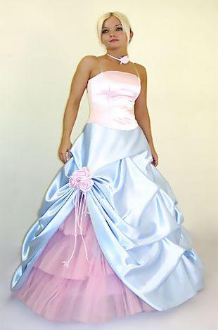 Abendkleider in pastell