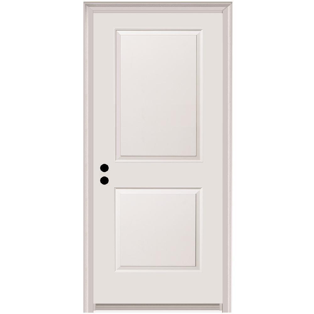 Mmi Door 32 In X 80 In Carrara Right Hand Primed Composite 20