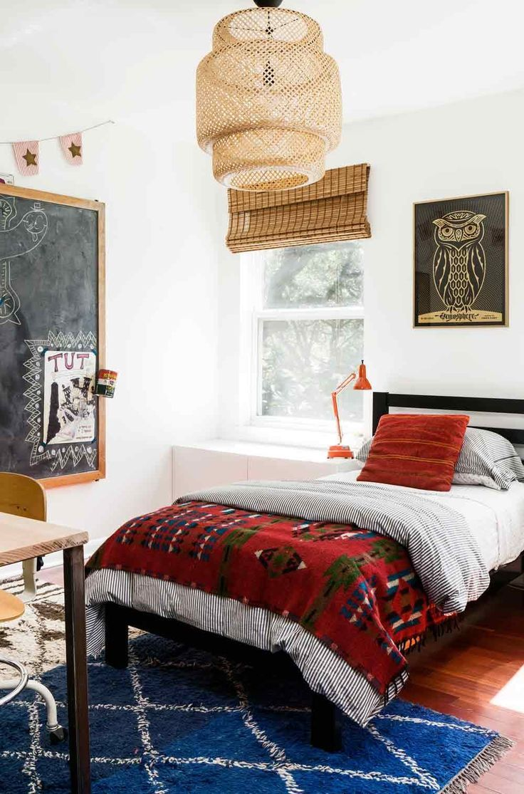 Bedroom Love Minimalist Plans a maximalist/minimalist family ranch in austin, tx | design*sponge