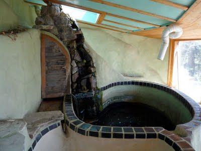 interiors earthship