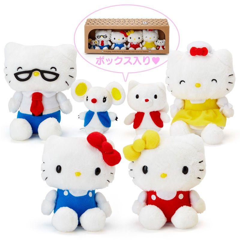 27pcs Stamp Set Friend in a Cute Case Box Hello Kitty Sanrio Japan Kawaii Goods