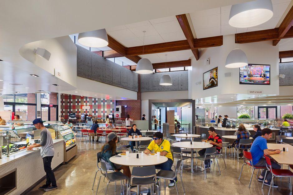 Csulb Parkside Dining Hall Long Beach Ca Ac Martin Dining Hall Dining Hall Design