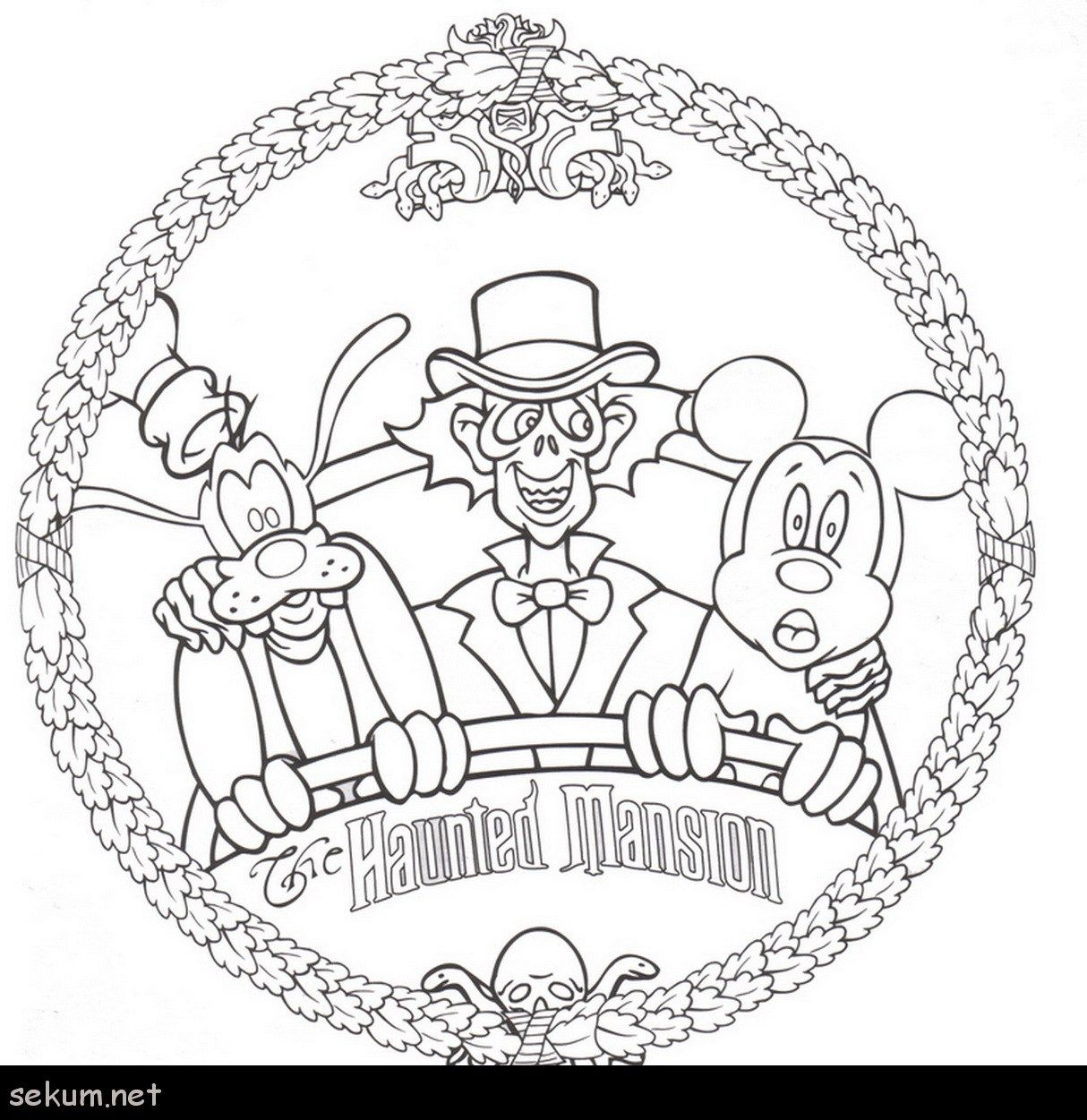 24 Marvelous Picture Of Halloween Coloring Pages Free Disney