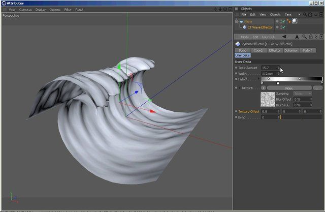 Ocean Wave Effector for CINEMA 4D in Best of C4D Tutorials