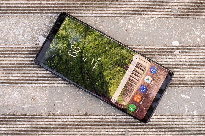 Some Galaxy Note 8 phones won't charge or turn on when