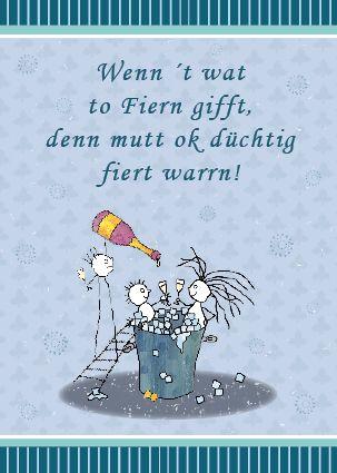 Geburtstagswunsche auf norddeutsche platt