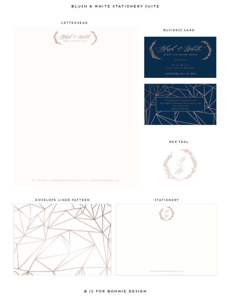 luxe   romantic brand reveal for blush  u0026 white design house