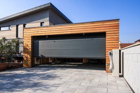 Montierte Doppelgarage 6 3 X 6 3 M Hagen Holzgarage Garage Aus Holz Doppelgarage