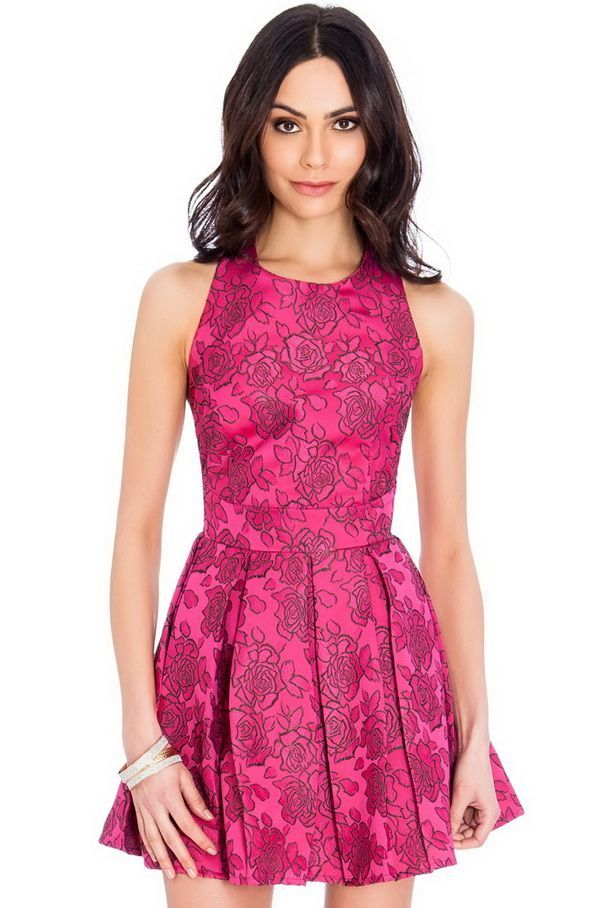 Jacquard-Mayorista de moda mujer-Venta al por mayor vestido fiesta ...