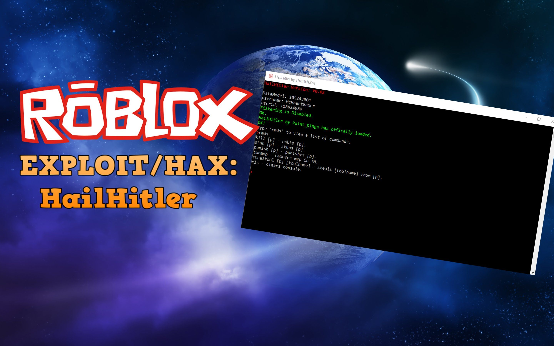 Roblox Exploit: HAILHITLER V0 02 [ASLR BYPASS][ UNPACTHED][MVP
