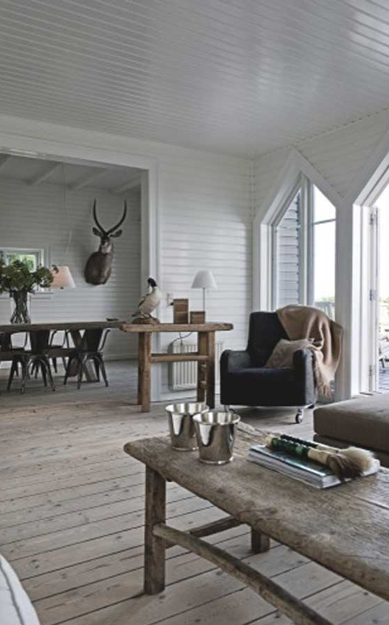 Rustic Nordic Nature Interior Design Modern Rustic Living Room Home House Design