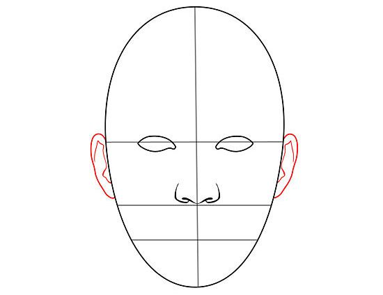How To Draw Human Faces 9 Steps With Pictures Wikihow