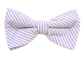 36f12713974c Soft Lavender Seersucker Bow Tie | Ties | Seersucker, Tie, Fashion