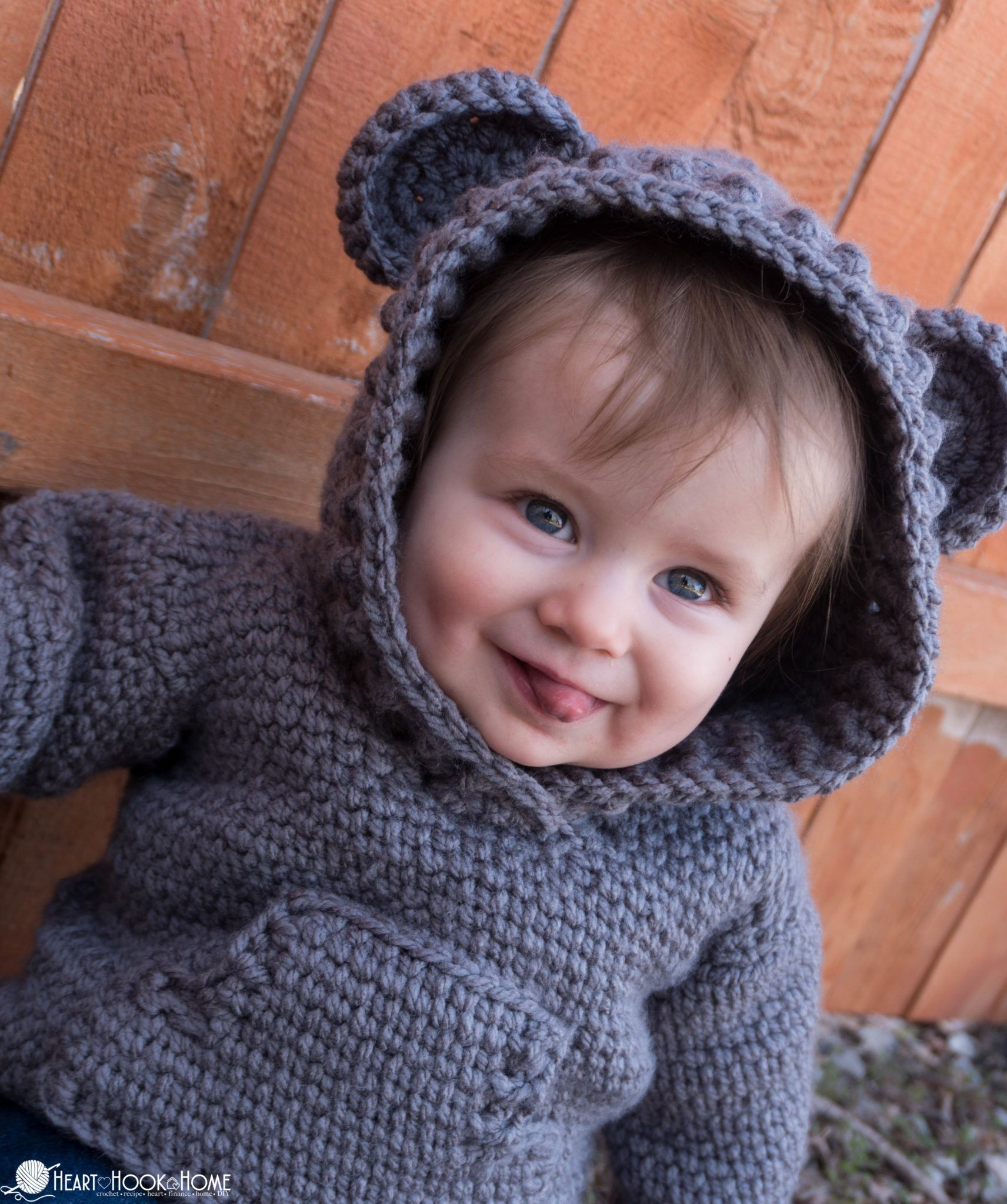 Photo of Hibernation Hoodie CHILD Sizes: Free Crochet Patterns