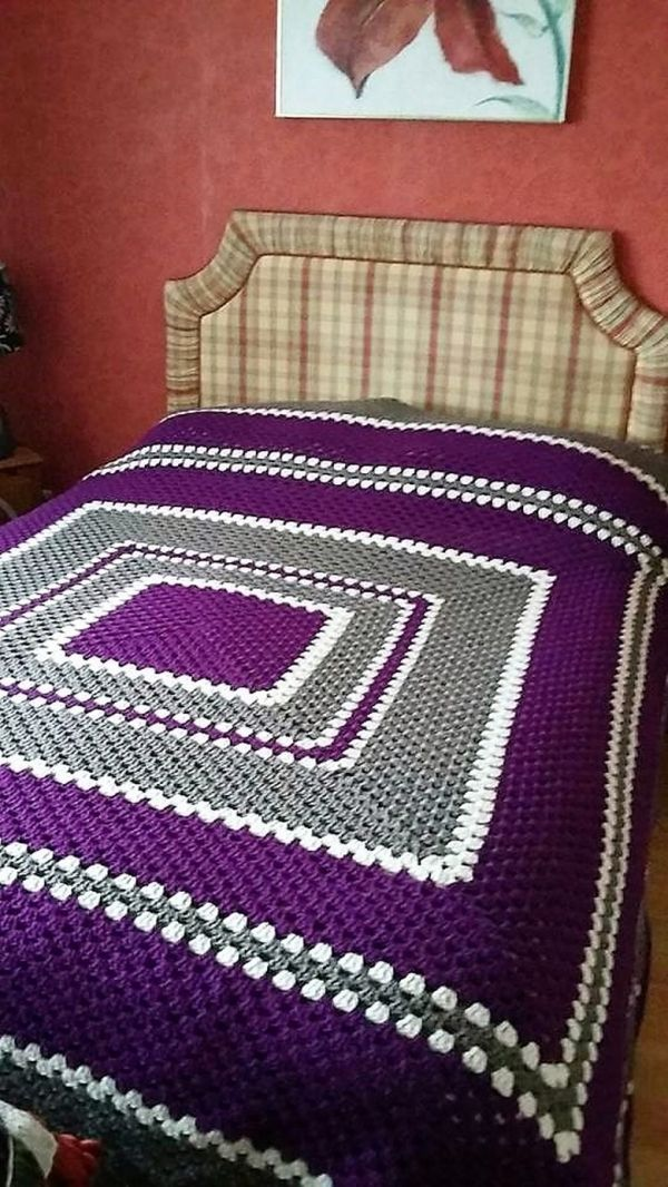 Awesome Design Ideas for Crochet Bedspreads | 1001 Crochet by ...