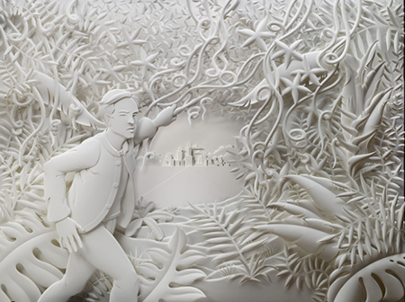 jeff nishinaka #paper #sculpture