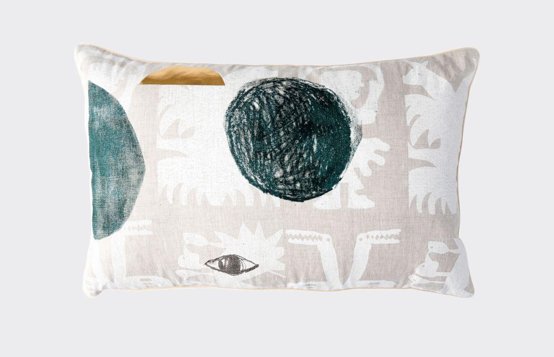 Otomiu cushion goods homewares in collaboration with miranda