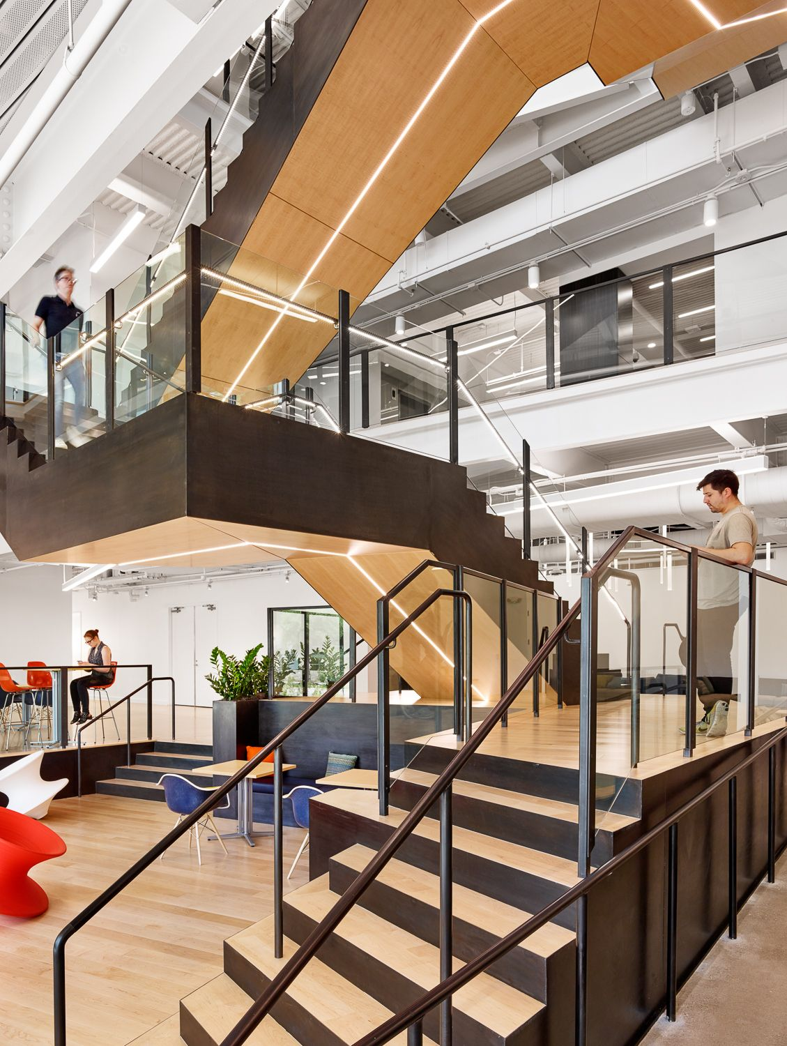 Best Office Tour Trend Micro Offices – Austin Stairs 400 x 300